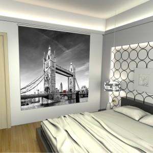 cortinas enrollables con impresion digital puente