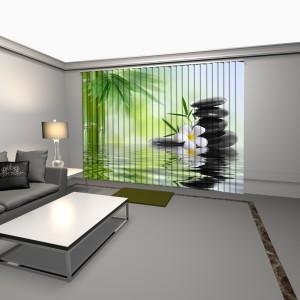 cortinas verticales con impresion digital plant