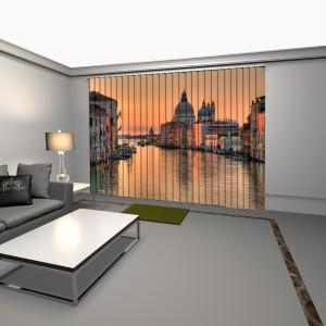 cortinas verticales con impresion digital pueblo