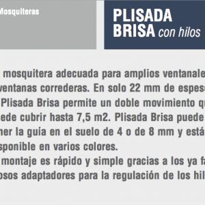 mosquitera brisa con hilos