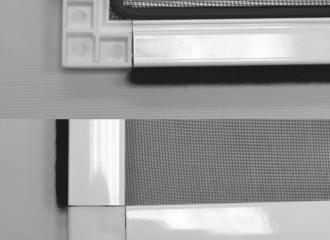 Mosquitera fija de aluminio