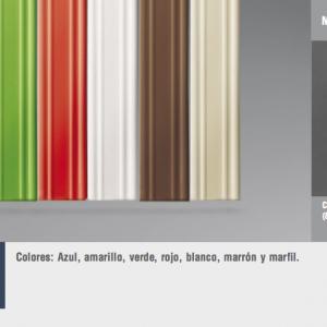 Cortinas de tiras variadas cinta pla