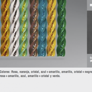 Cortinas de tiras variadas manacor